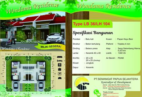 wondama residence Sorong Papua Barat