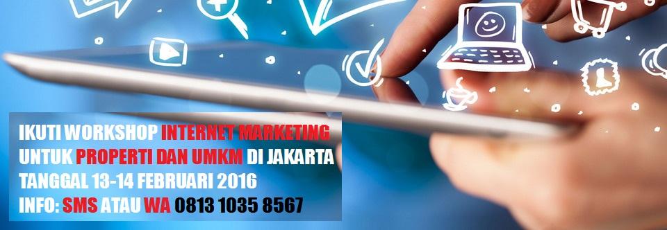 Workshop Internet Marketing Properti dan UMKM