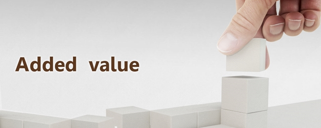 added value properti